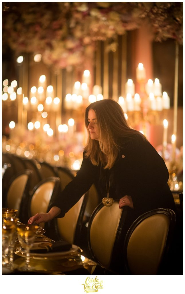 Sarah Haywood at a wedding at Castle Howard in North Yorkshire England